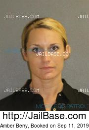 Amber Berry mugshot picture